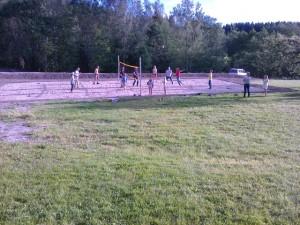 Sandvolleyball - en av mange aktiviteter