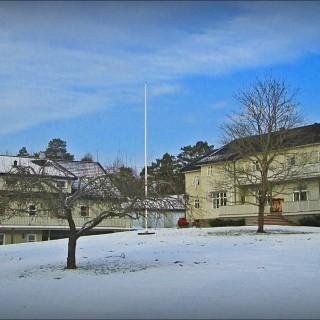 Vinterbilde av Stenbekk
