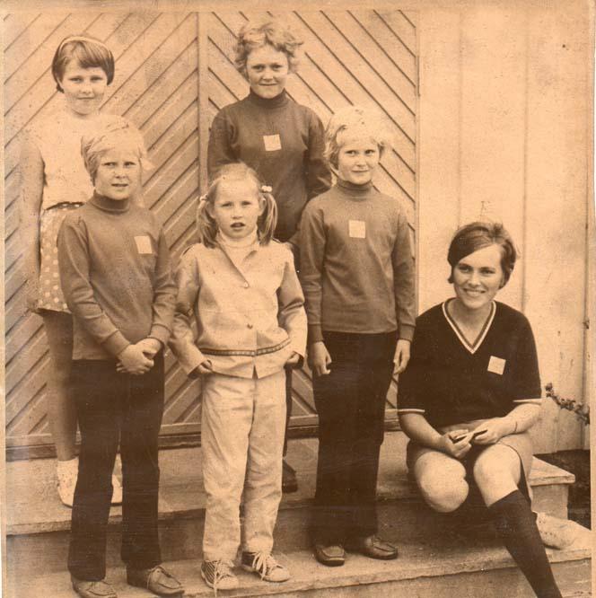1970 Inger, Jorunn, Kjersti, Heidi