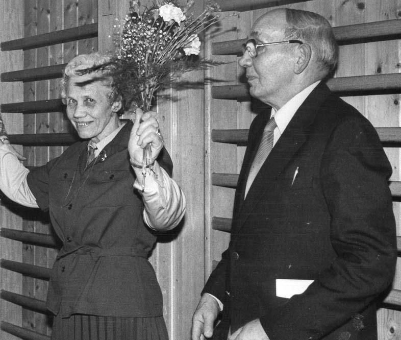 1983 Avskjed med Agnes og Einar Jelsnes
