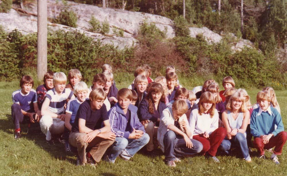 1983 Tenleir gruppebilde