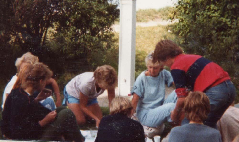 1984 Arbeidsleir. Besøk i Gamlebyen