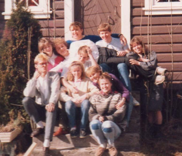 1985 Påskeleir ledergjengen