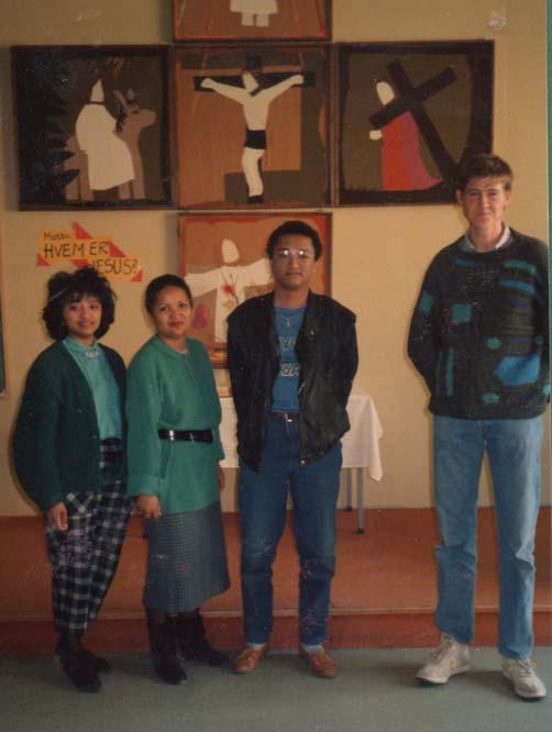 1987 Per Gunnar Gramstad med Gassiske gjester