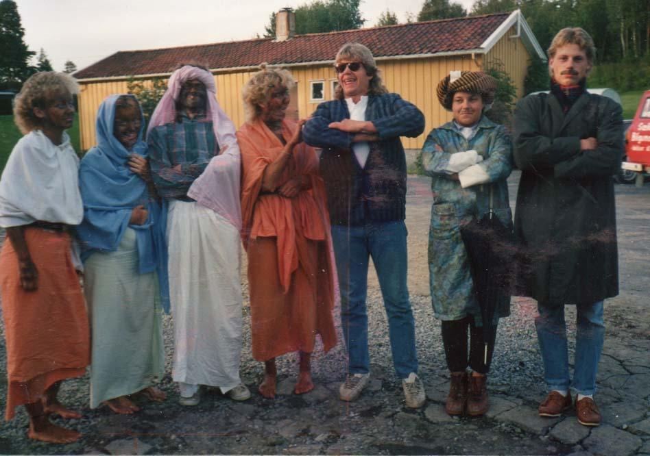 1987 Ungdomsleir oppstilling b