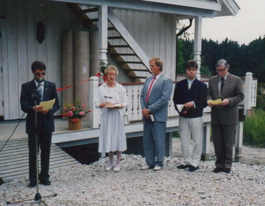 1989 Åpning av nybygget