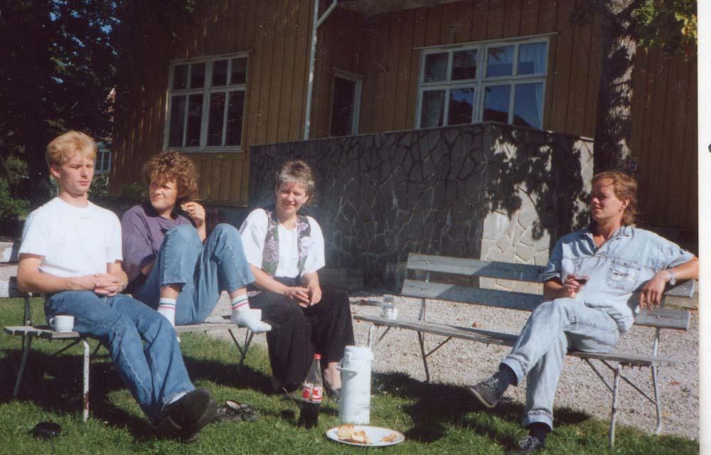 1990 20årsjub Kjøkkengjengen før middagen 1