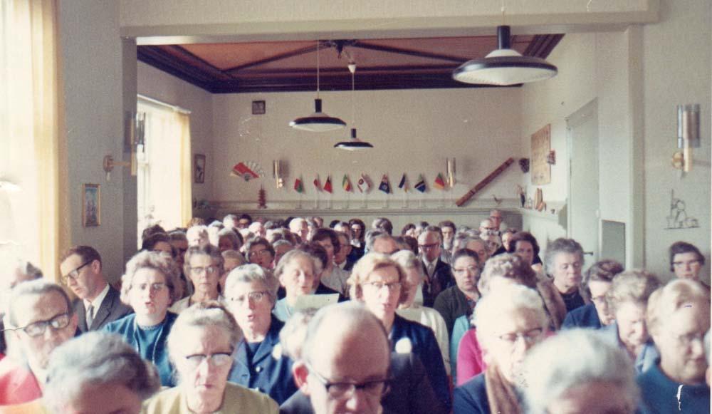 1970 Fra innvielsen Spisesalen