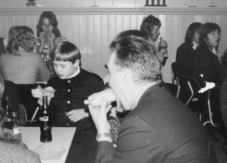 1971 ca  Bispevisitas Ungdomsmøte på Stenbekk