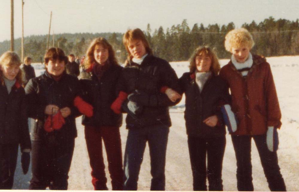 1979 vinterleir Lisbet Wenche Elin Ronny Tove Ragnhild
