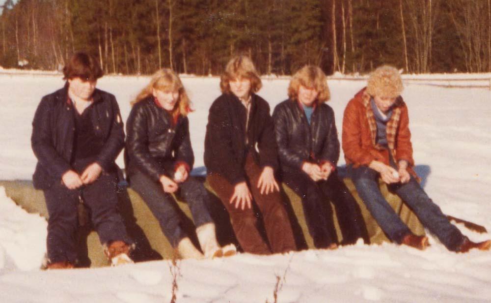1979 vinterleir Wenche Lisbeth Jorunn Tove Ragnhild