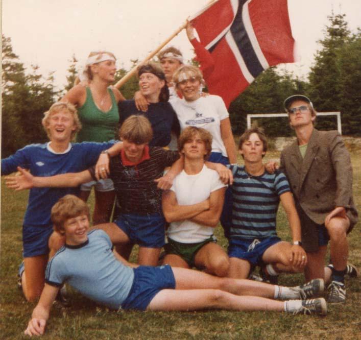 1981 Langleir Astrid AnneGrete Inger Jorunn Bjørn Reidar LeifMagne HansOlav Knut Jarle