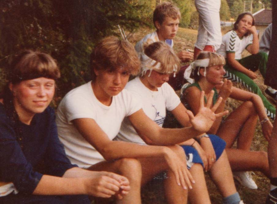 1981 Langleir FotballturneringInnbytterbenken