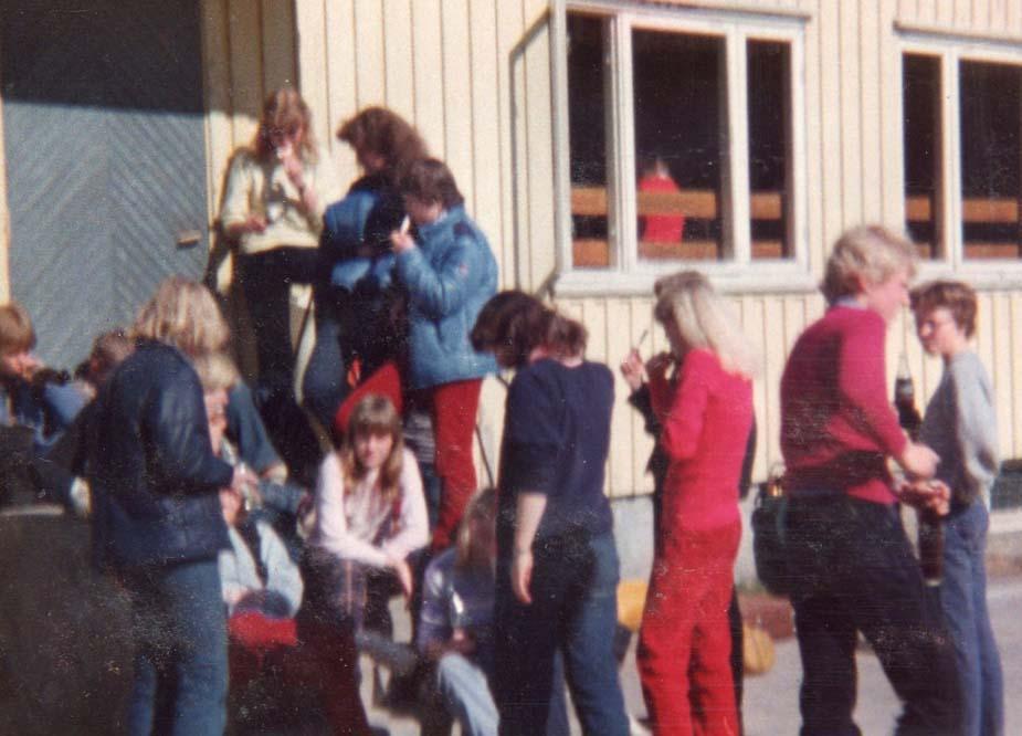 1981 utenfor Det Hvite Hus