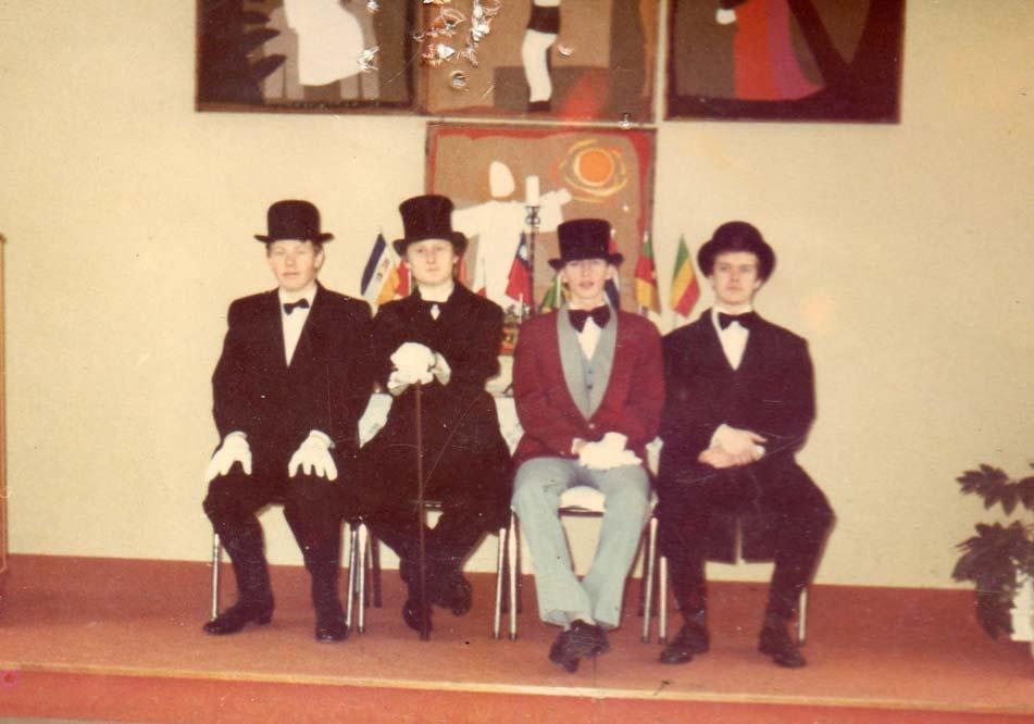 1983 Jarle, Bjørn Egil, Glenn og Knut Olav