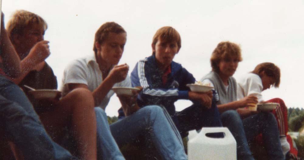 1984 Arbeidsleir. Besøk i Gamlebyen2
