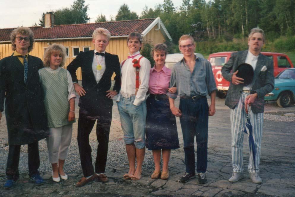 1987 Ungdomsleir oppstilling