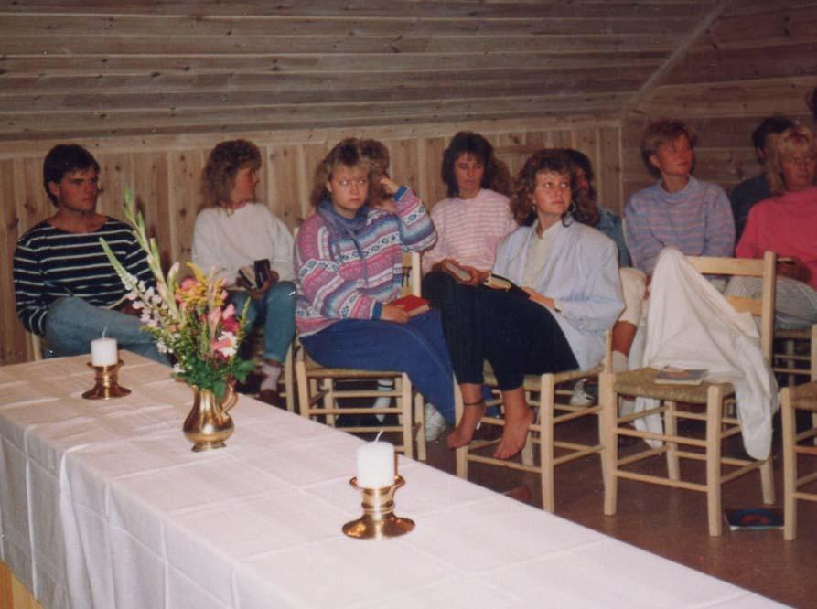 1989 Kapellet tas i bruk