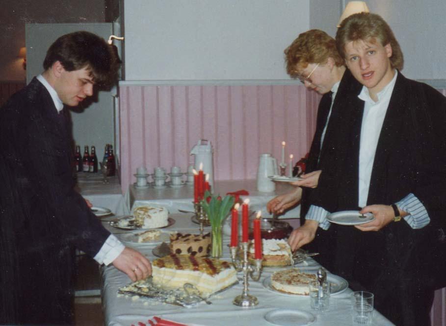 1989 Nyttårsleir kakebord