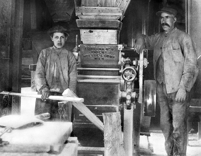 Far og sønn Kultorp jobbet i anlegget