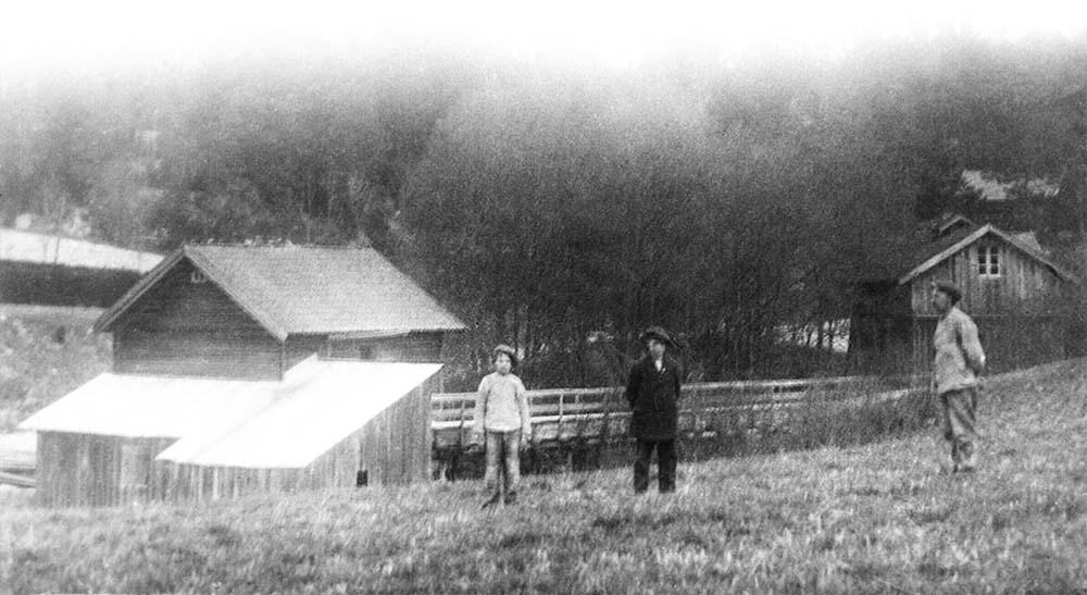Noen av husene ved Stenbekken