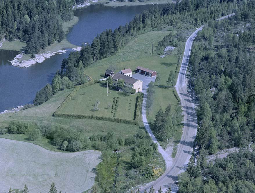 Flyfoto av Stenbekk Barnehjem
